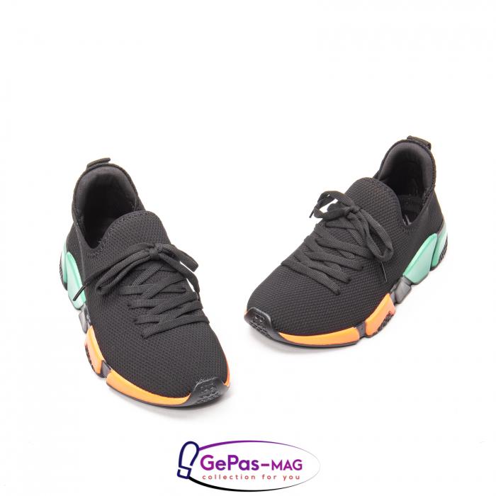 Pantofi dama sport din material textil, A6M044-029 01-T 1