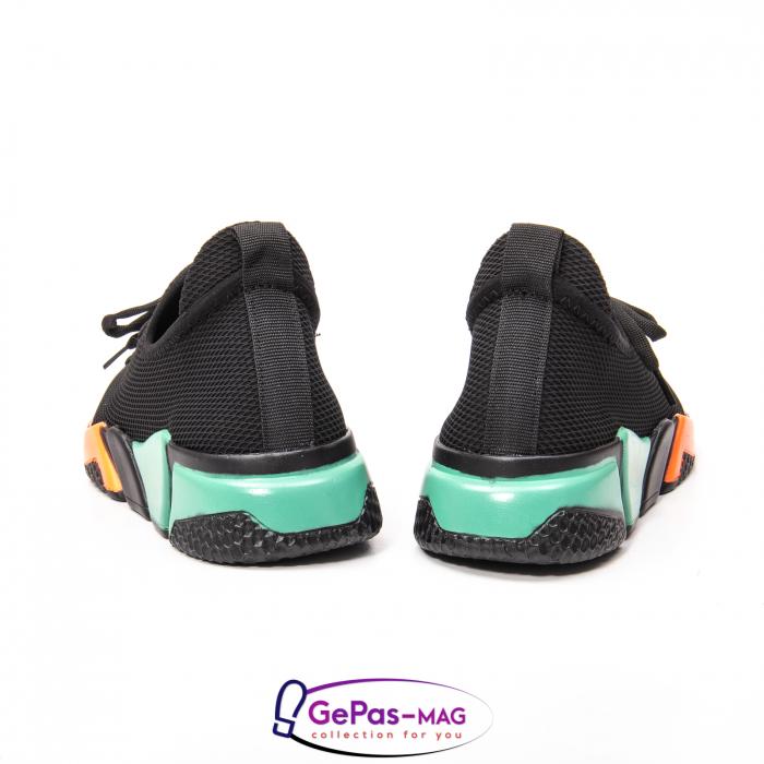 Pantofi dama sport din material textil, A6M044-029 01-T 4
