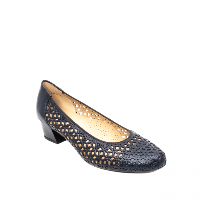 Pantofi dama, piele naturala, AR 12-35862 Bl 0