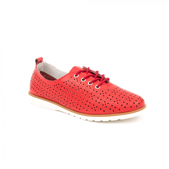 Pantofi de vara 102 rosu 0