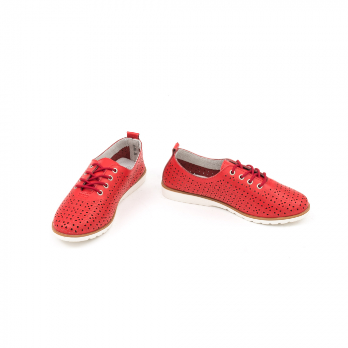 Pantofi de vara 102 rosu 4