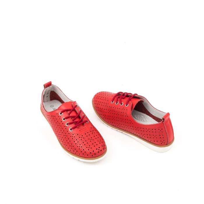 Pantofi de vara 102 rosu 3