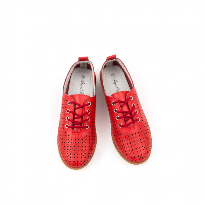 Pantofi de vara 102 rosu 6
