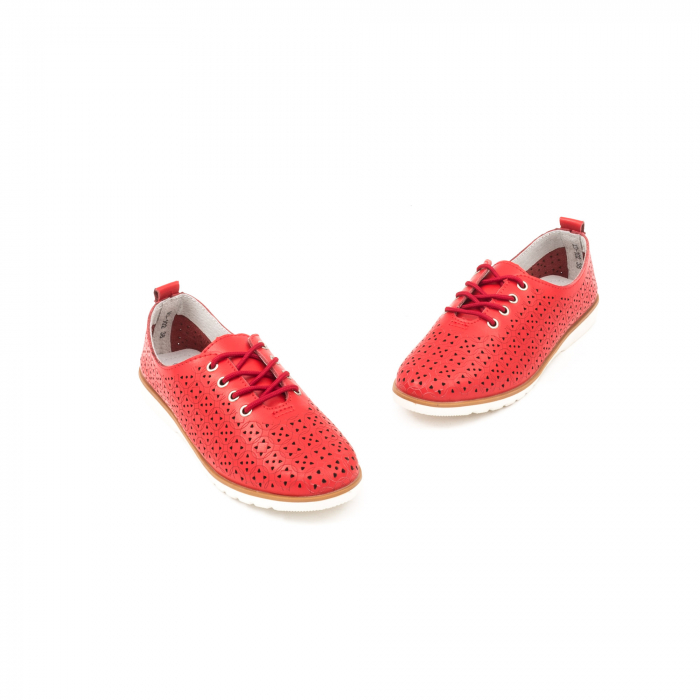Pantofi de vara 102 rosu 1