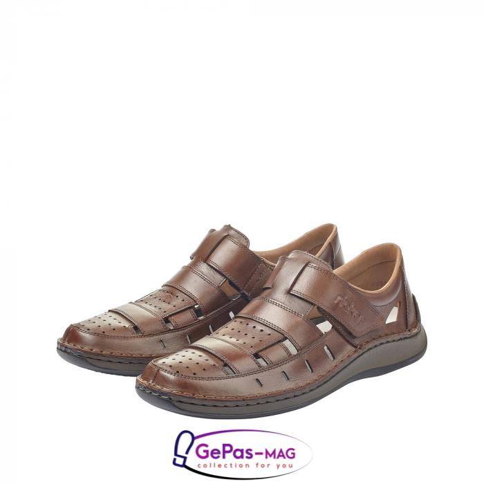 Sandale barbati, piele naturala, 05268-25 6