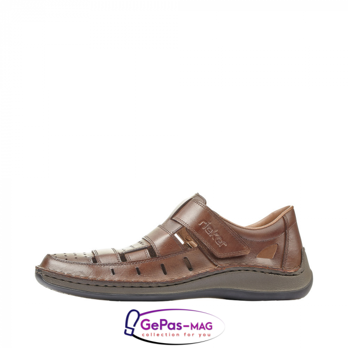 Sandale barbati, piele naturala, 05268-25 5