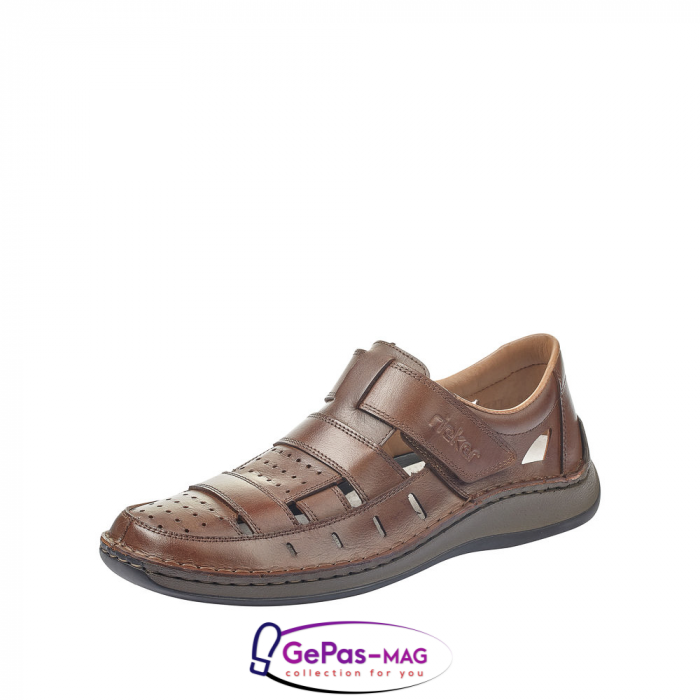 Sandale barbati, piele naturala, 05268-25 0