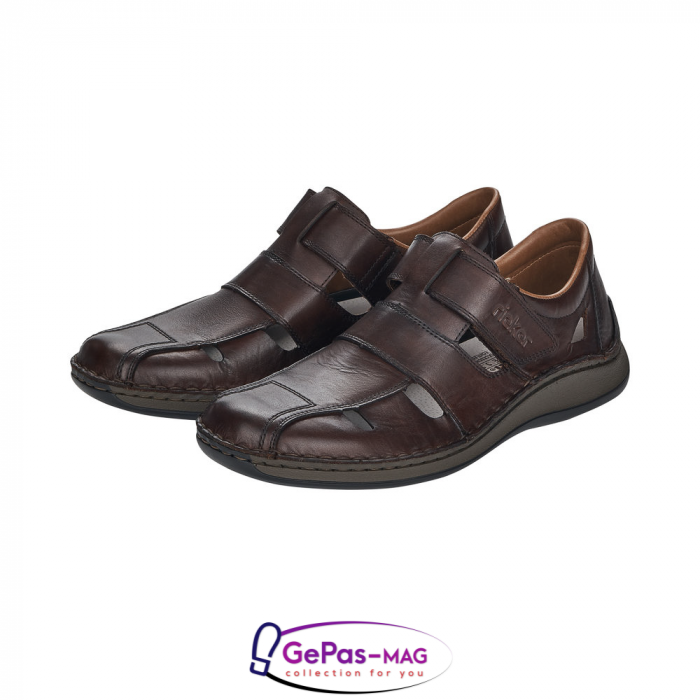 Sandale barbati, piele naturala, 05269-25 2