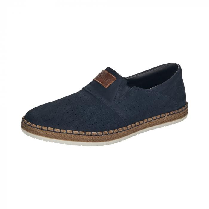 Pantofi de vara barbat, piele naturala nubuc, B5256 0