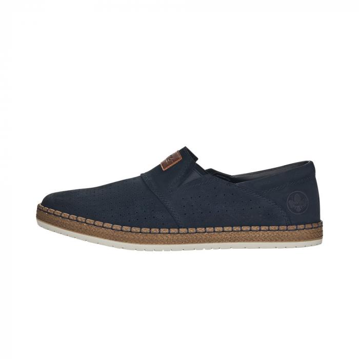 Pantofi de vara barbat, piele naturala nubuc, B5256 4