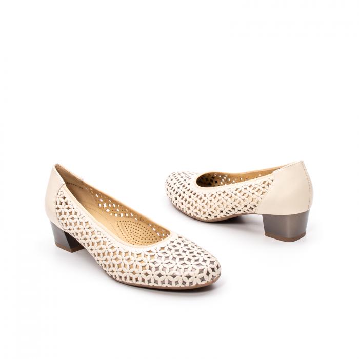 Pantofi dama vara, piele naturala, AR 12-35862 C 2