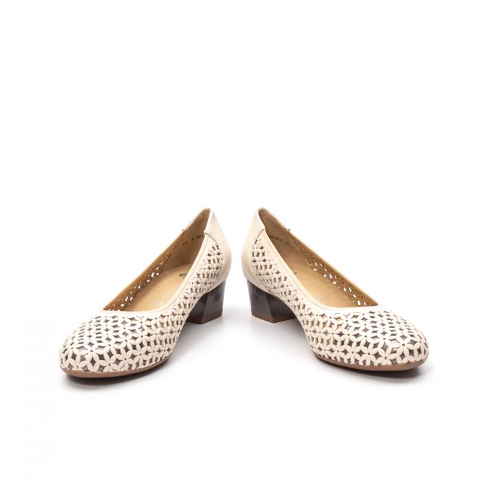 Pantofi dama vara, piele naturala, AR 12-35862 C 4