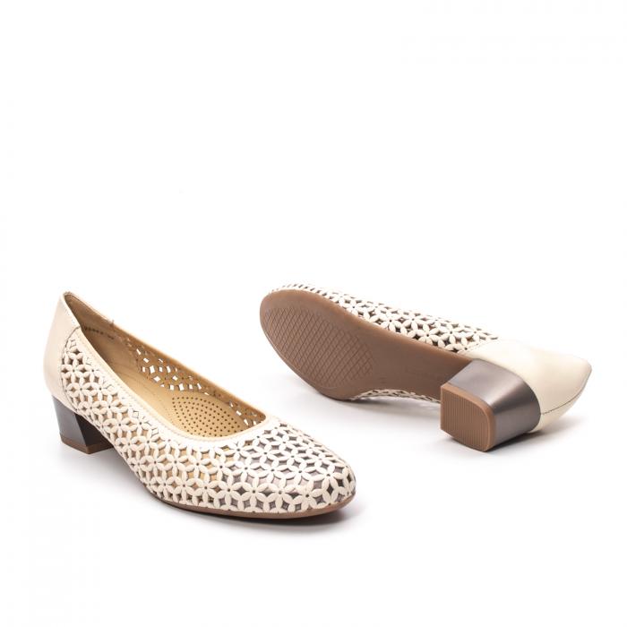 Pantofi dama vara, piele naturala, AR 12-35862 C 3