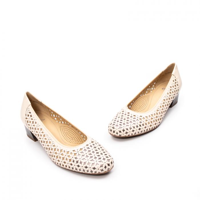 Pantofi dama vara, piele naturala, AR 12-35862 C 1