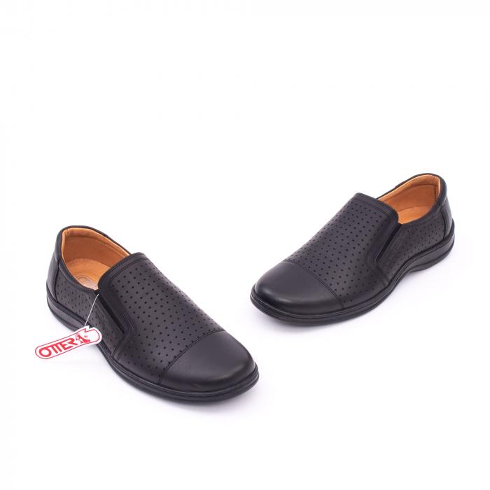 Pantofi de vara OT 151 negru box 1