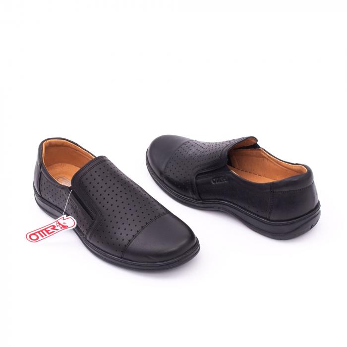 Pantofi de vara OT 151 negru box 3