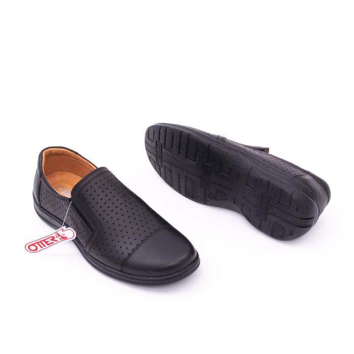 Pantofi de vara OT 151 negru box 2