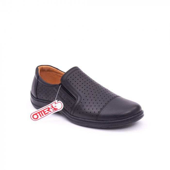 Pantofi de vara OT 151 negru box 0