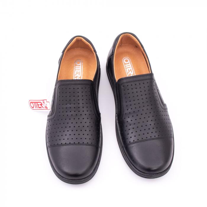 Pantofi de vara OT 151 negru box 4