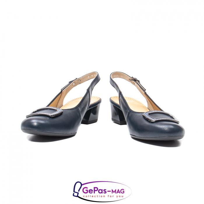 Pantofi piele decupati, AR35865-02 42-N 4