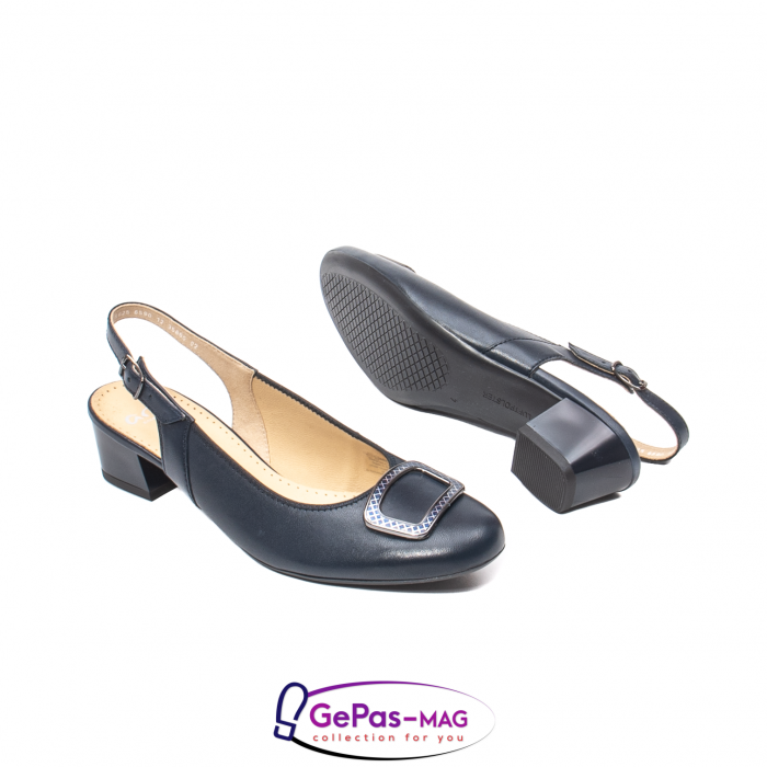 Pantofi piele decupati, AR35865-02 42-N 3