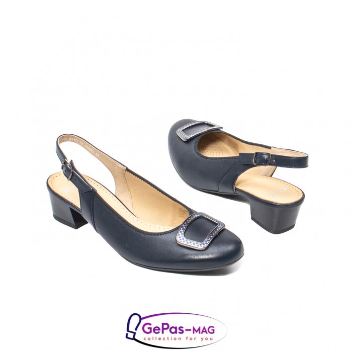 Pantofi piele decupati, AR35865-02 42-N 2