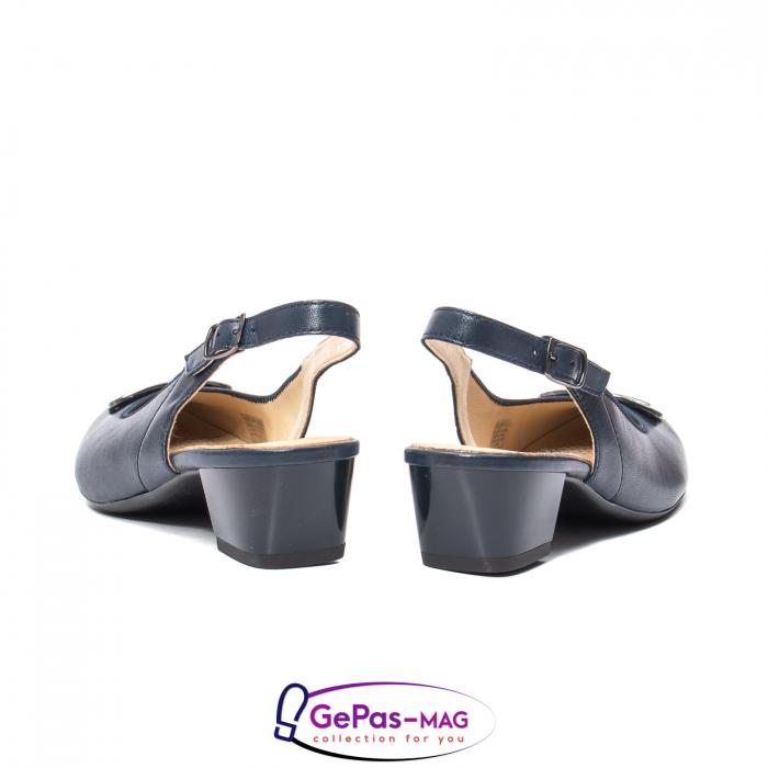 Pantofi piele decupati, AR35865-02 42-N 6