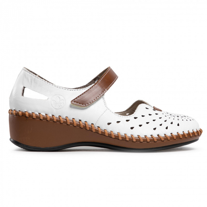 Pantofi decupati dama din piele naturala, N1657-80 [1]