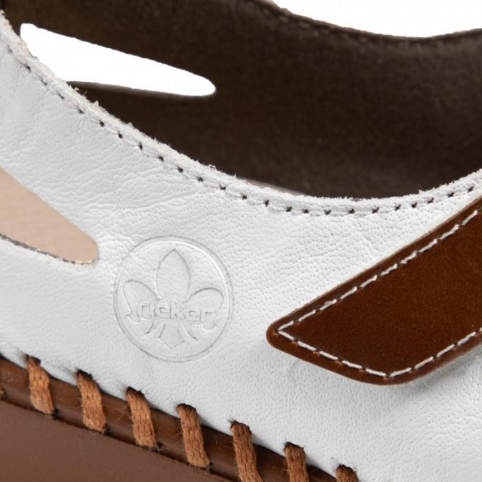 Pantofi decupati dama din piele naturala, N1657-80 [6]