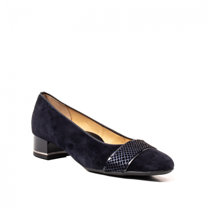 Pantofi eleganti dama, piele naturala nubuc, AR11836 0