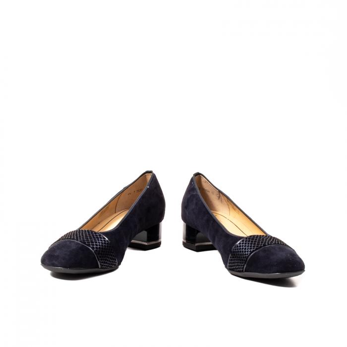 Pantofi eleganti dama, piele naturala nubuc, AR11836 1