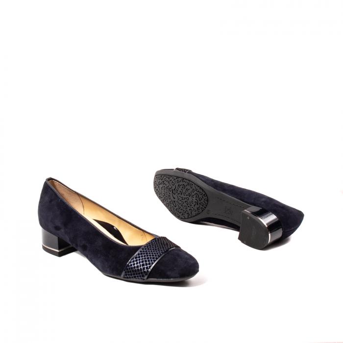 Pantofi eleganti dama, piele naturala nubuc, AR11836 3