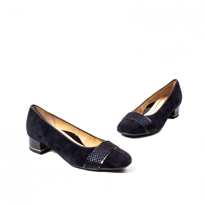 Pantofi eleganti dama, piele naturala nubuc, AR11836 4