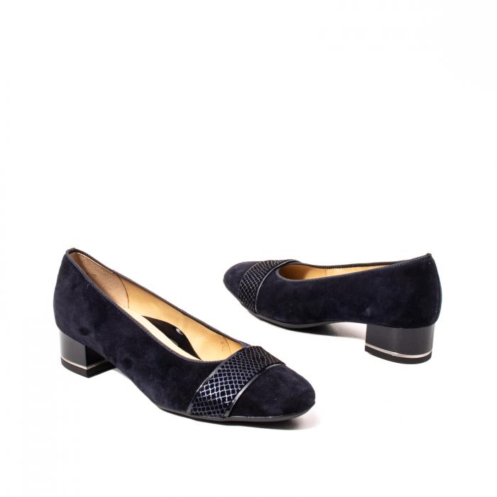 Pantofi eleganti dama, piele naturala nubuc, AR11836 6