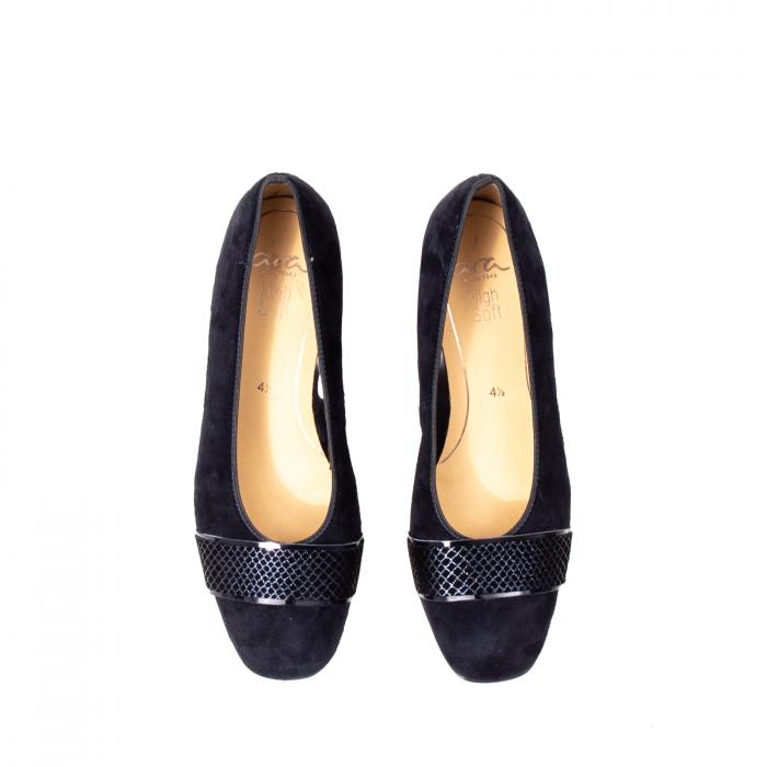 Pantofi eleganti dama, piele naturala nubuc, AR11836 2