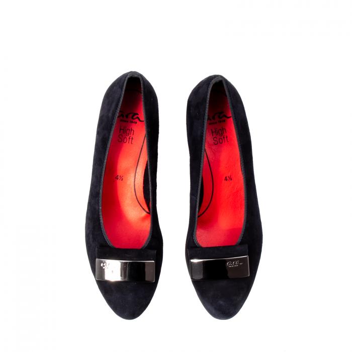 Pantofi eleganti dama, piele naturala nubuc, AR11488 5