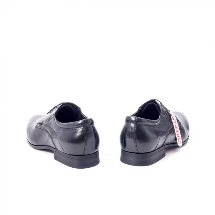 Pantofi eleganti barbat din piele naturala Otter QRA33531 01-N,negru 6