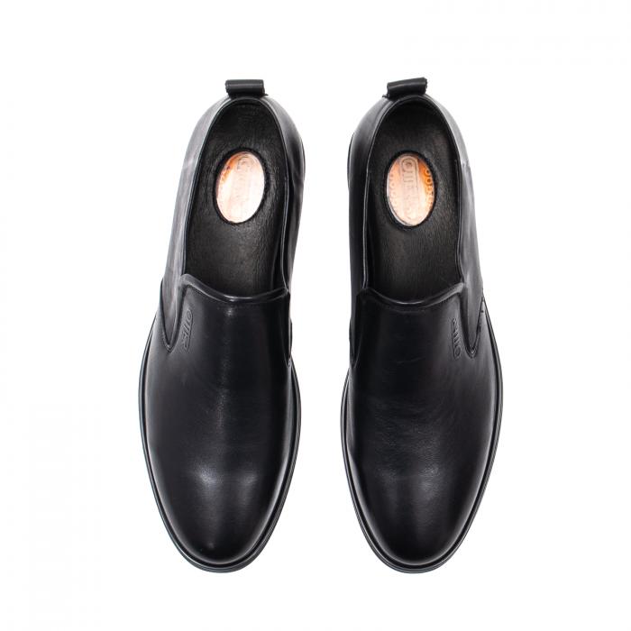 Pantofi barbati eleganti, piele naturala, E6Y99390B 5