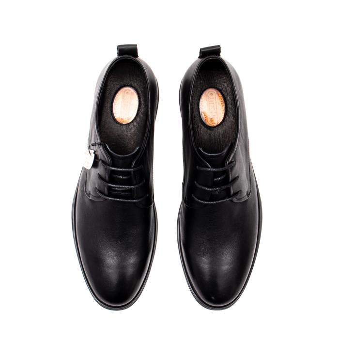 Pantofi barbati eleganti, piele naturala, E6Y99391B 5