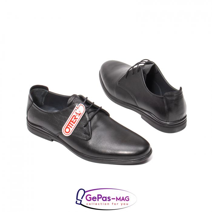 Pantofi eleganti barbat, piele naturala, OJ77703 2