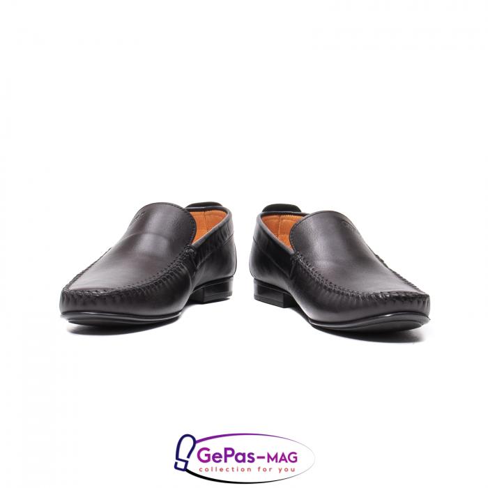 Pantofi eleganti barbat tip mocasin 0390 4