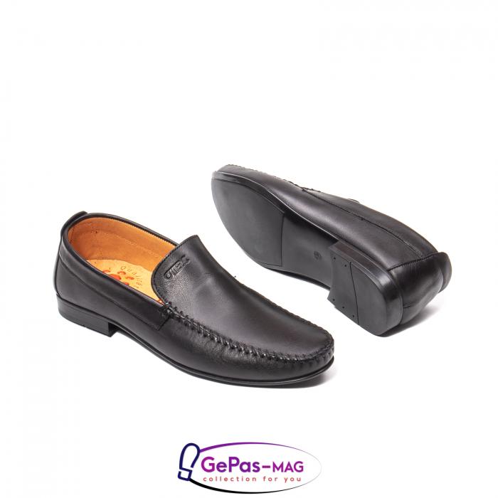 Pantofi eleganti barbat tip mocasin 0390 3