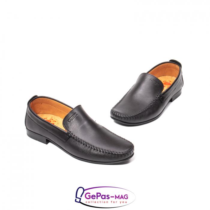 Pantofi eleganti barbat tip mocasin 0390 1