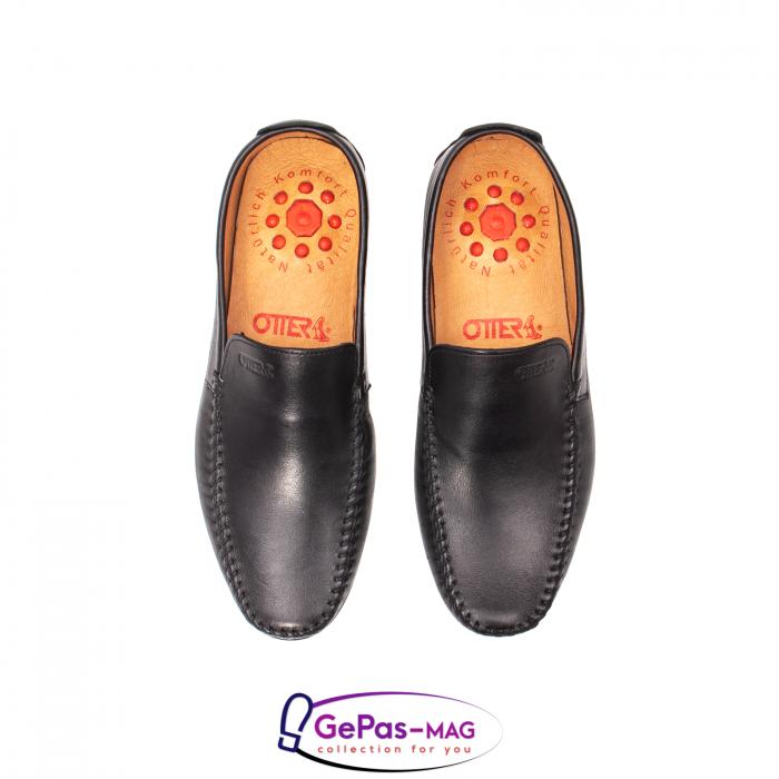 Pantofi eleganti barbat tip mocasin 0390 5