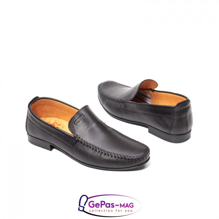 Pantofi eleganti barbat tip mocasin 0390 2