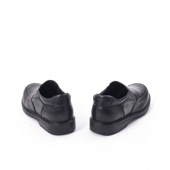 Pantofi eleganti barbati piele naturala, Catali 192561, negru 6