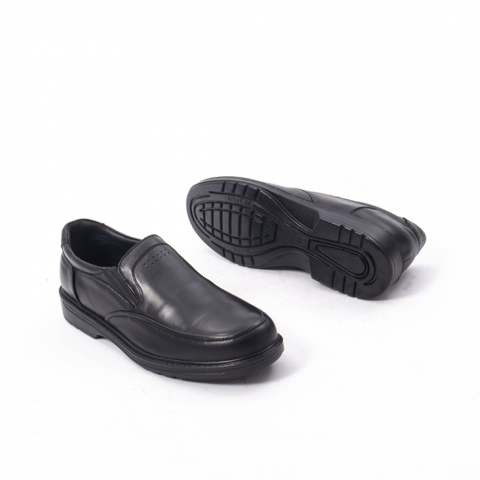 Pantofi eleganti barbati piele naturala, Catali 192561, negru 3