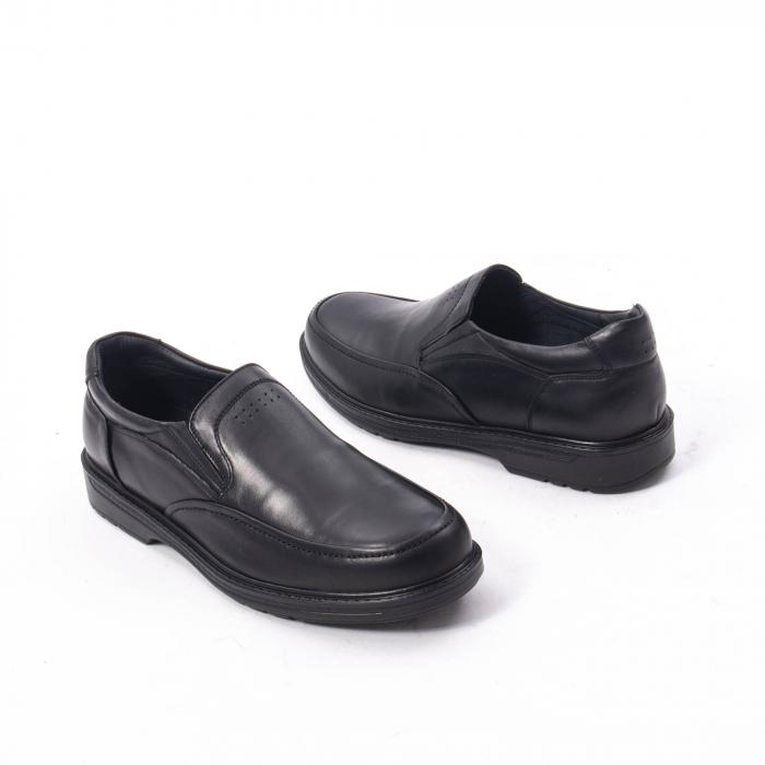 Pantofi eleganti barbati piele naturala, Catali 192561, negru 2