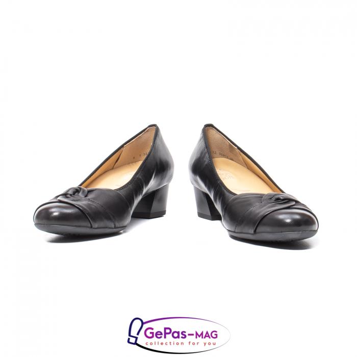 Pantofi eleganti dama din piele naturala neteda cu toc mic AR12-35811 4