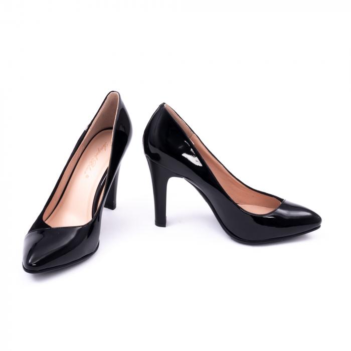 Pantofi eleganti dama 6042 negru 4